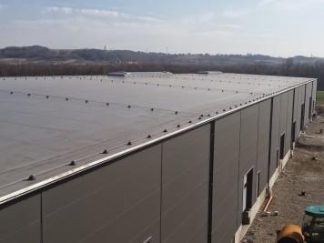 Dach membrana PVC