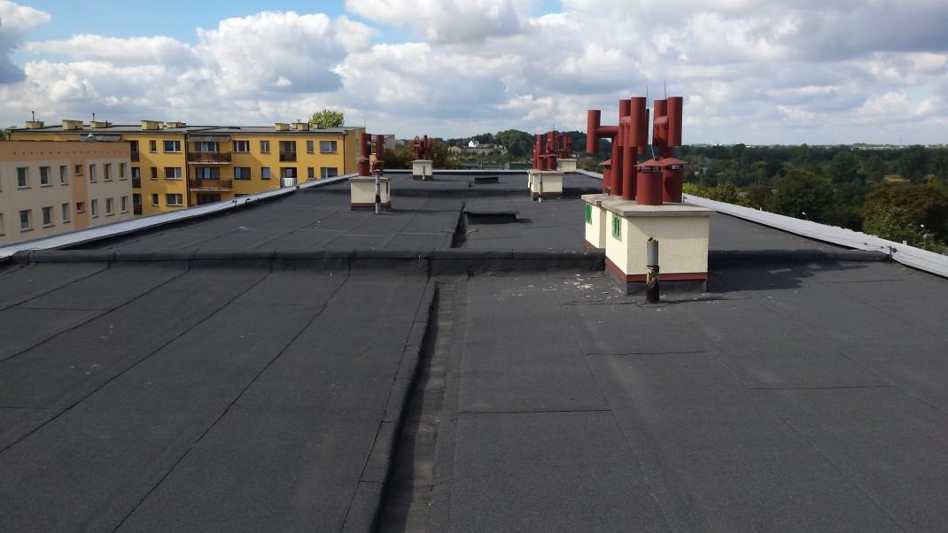 Dachy płaskie